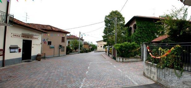 View of the Giancarlo De Molli square