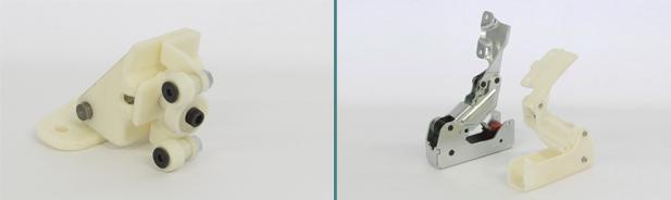 Prototipi su stampa 3D e prodotto finale