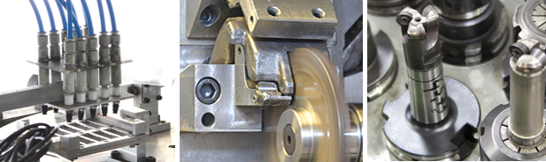 Precision tools for steels and aluminum machining