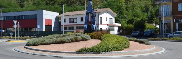 La rotonda verde curata da De Molli Giancarlo Industrie S.p.a.