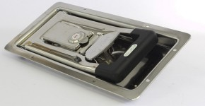 Recessed lock for isothermal vehicles - De Molli Giancarlo Industrie Spa